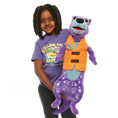 Vacation Bible School (VBS) 2018 Rolling River Rampage Romper the River Otter Puppet