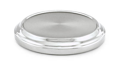 Polished Aluminum Communion Stacking Bread Plate