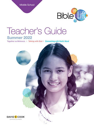 Bible-In-Life Middle School Teacher Guide Summer 2015