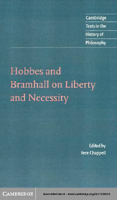 Hobbes and Bramhall on Liberty and Necessity [Adobe Ebook]