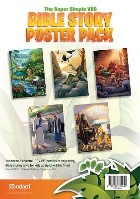 Standard VBS 2014 Jungle Safari Bible Story Poster Pack