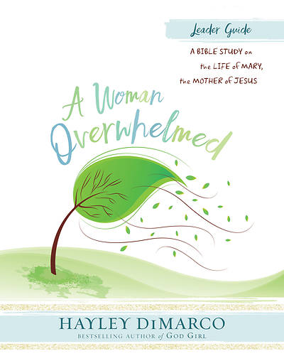 A Woman Overwhelmed - Womens Bible Study Leader Guide