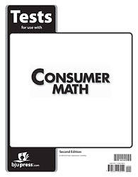 Consumer Math Tests 2nd Edition