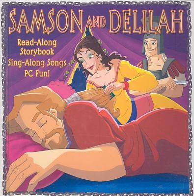 Samson and Delilah with CD
