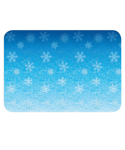 Vacation Bible School (VBS) 2018 Polar Blast Snowflakes Plastic Backdrop