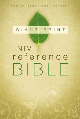 New International Version Reference Bible Giant Print