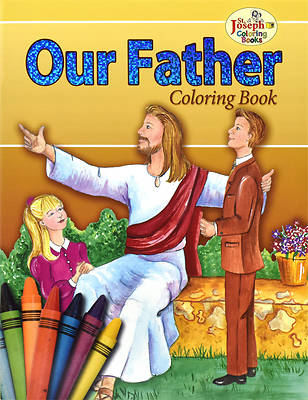 Coloring Book about the Our Father