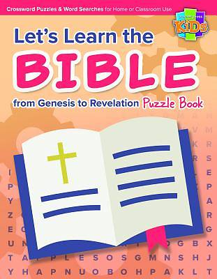 Lets Learn the Bible from Genesis to Revelation Puzzle Book 48pg