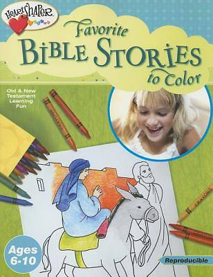 Favorite Bible Stories to Color