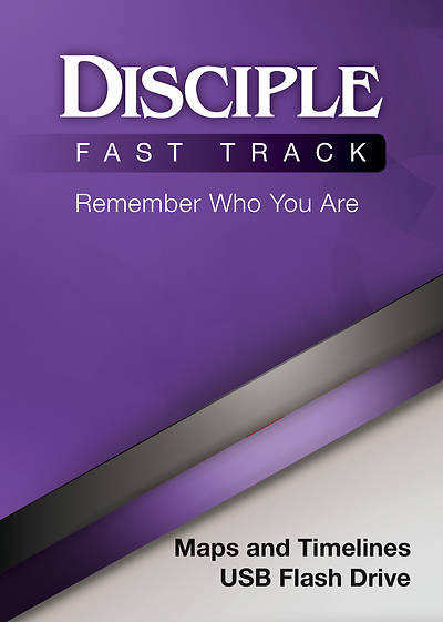 Disciple Fast Track Remember Who You Are Maps and Timelines USB Flash Drive