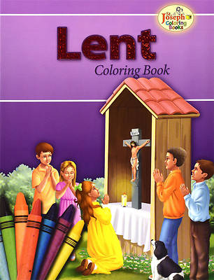 Coloring Book about Lent