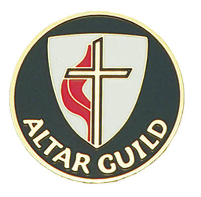 United Methodist Gold-Plated Bronze Altar Guild