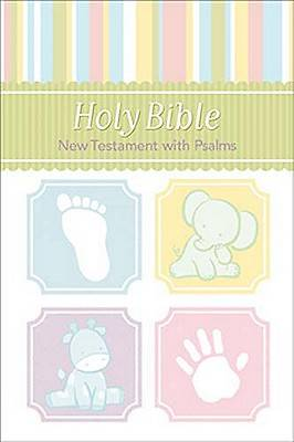 Baby Bible New Testament with Psalms - Pink