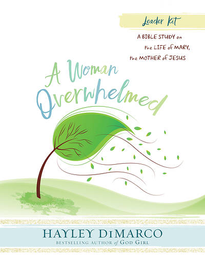A Woman Overwhelmed - Womens Bible Study Leader Kit