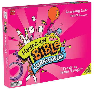 Hands On Bible Curriculum Pre-K & K Learning Lab Spring 2018
