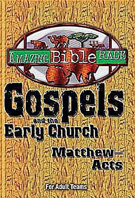 Amazing Bible Race - For Adult Teams (Matthew-Acts) - eBook [ePub]