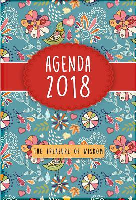 The Treasure of Wisdom 2018 Agenda - Birds and Flowers Cover