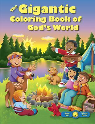 The Gigantic Coloring Book of Gods World