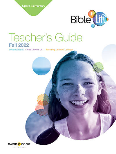 Bible-in-Life Upper Elementary Teachers Guide Fall
