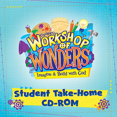 Vacation Bible School (VBS) 2014 Workshop of Wonders Student Take-Home CD-ROM
