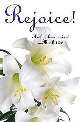 Rejoice! Easter Lilies Bulletin 2012, Regular Size (Package of 50)