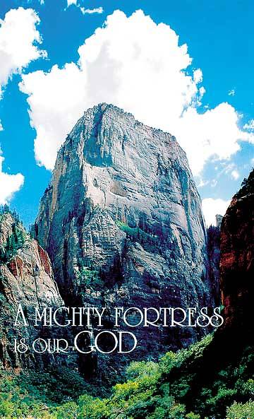 A Might Fortress Bulletin, Regular Size (Package of 50)