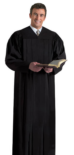 Murphy Qwick Ship Plymouth H-203 Black Pulpit Robe