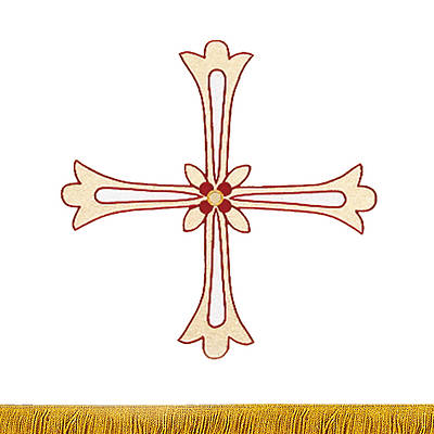 Gaspard 6610 Glorious Cross Pulpit Scarf