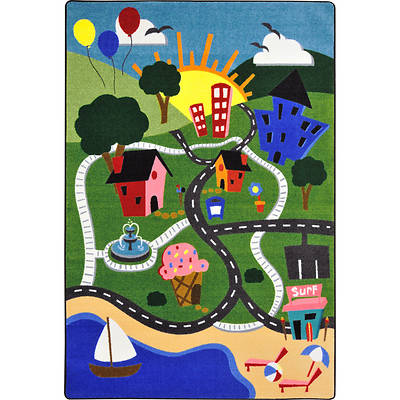 Happy Town Childrens Area Rug