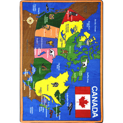 Oh Canada Childrens Area Rug