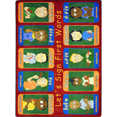 First Signs Childrens Area Rug
