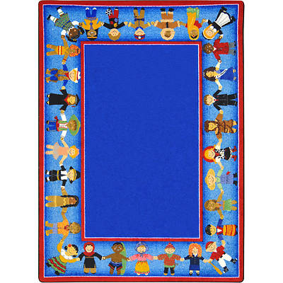 Children of Many Cultures Childrens Area Rug