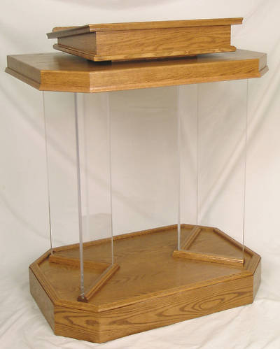 Woerner 3381 Acrylic and Wood Pulpit