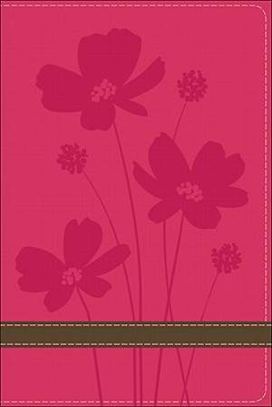 God's Word Compact Bible Rose Brown Flower Design Duravella