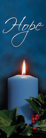 Photo Series Hope Blue Advent Banner 18