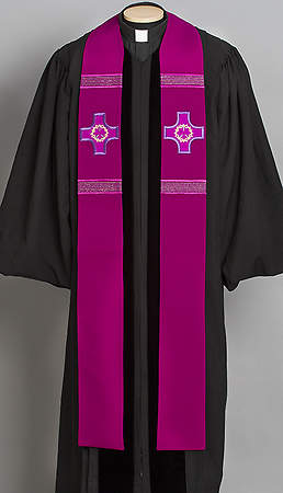Revelation Series Stole Purple Lent - 110