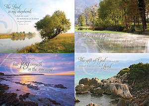 Peaceful Reflections - Sympathy Boxed Cards - Box of 12