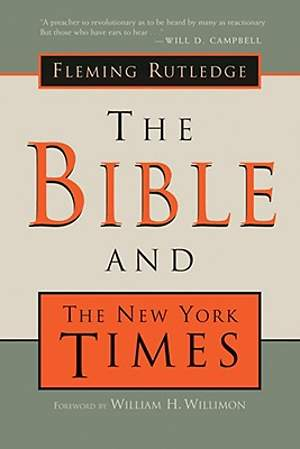 The Bible and the New York Times