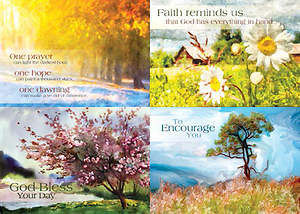 Artistic Impressions - Encouragement Boxed Cards - Box of 12
