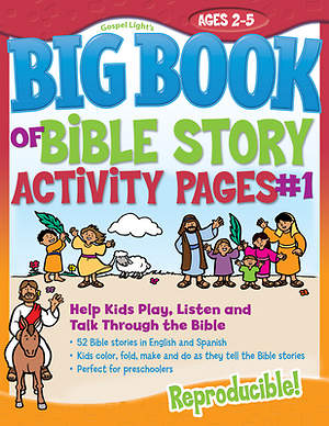 The Big Book of Bible Story Activity Pages #1