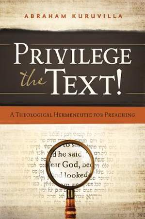 Privilege the Text! [ePub Ebook]
