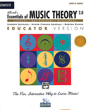 Alfred's Essentials of Music Theory Teacher's Activity Kit Book 1