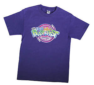 Standard VBS 2015 Blast to the Past T-Shirt:  Adult Small