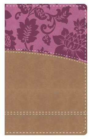 KJV Study Bible Women' Edition--Indexed (Tan/Pink)