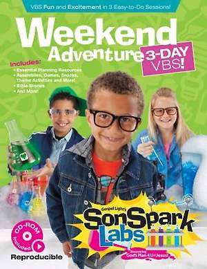 Gospel Light SonSpark Labs Weekend Adventure 3-Day VBS