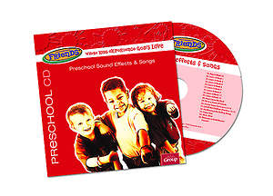 FaithWeaver Friends Preschool Drama, Sound Effects & Songs CD Spring 2015