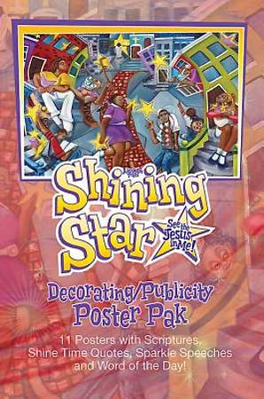 Vacation Bible School (VBS) 2015 Shining Star Decorating/Publicity Poster Pak