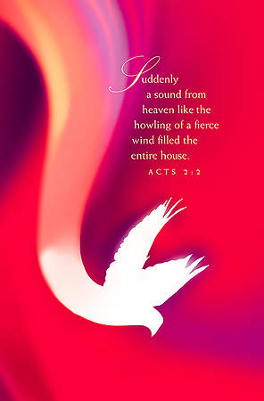 Suddenly Pentecost Bulletin 2015, Regular (Package of 50)