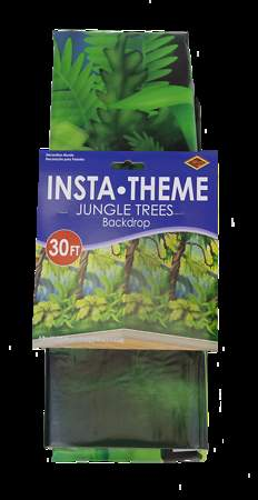 Group Cross Culture VBS 2015 Jungle Trees Plastic Backdrop