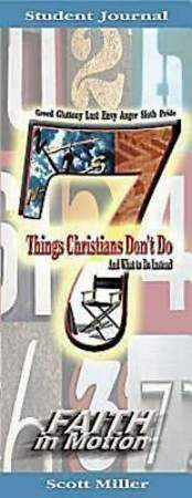 7 Things Christians Don`t Do Student Journal